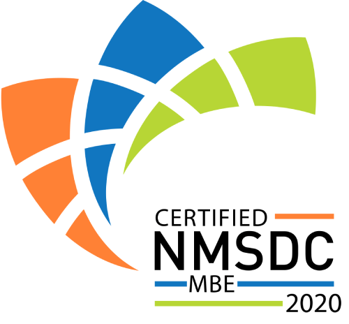 Logo of Certified NMSDC MBE 2020